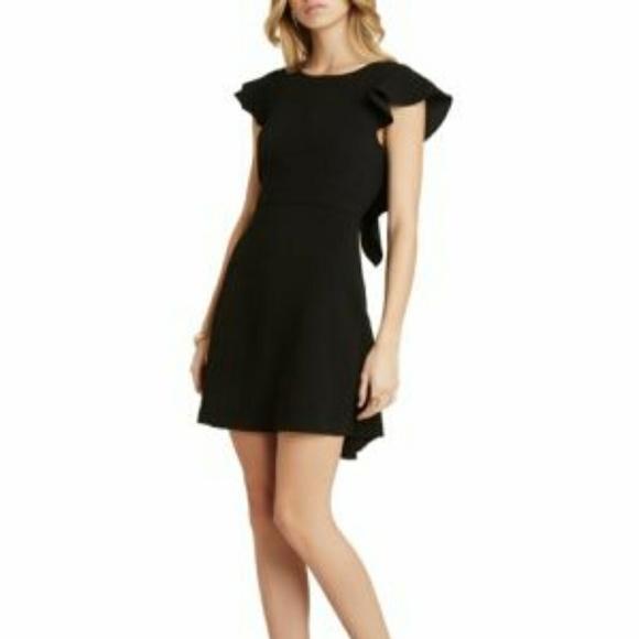 7d46588c6b6 BCBGeneration Dresses   Skirts - BCBGeneration black flowy ruffle dress  size 6